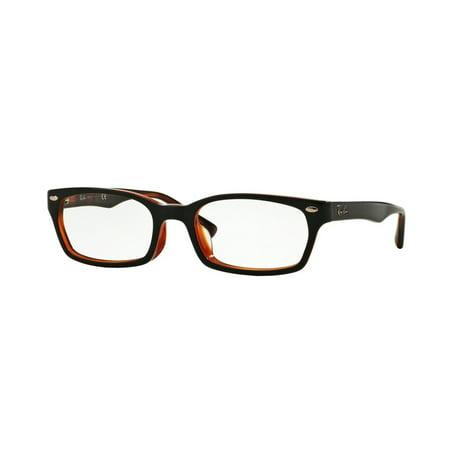 3536f84b13 Eyeglasses Ray-Ban Optical RX 5150 F 2044 TOP BLACK ON RED HAVANA -  Walmart.com