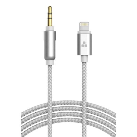(Apple MFI Certified) iPhone Aux Lightning Cord to Male 3