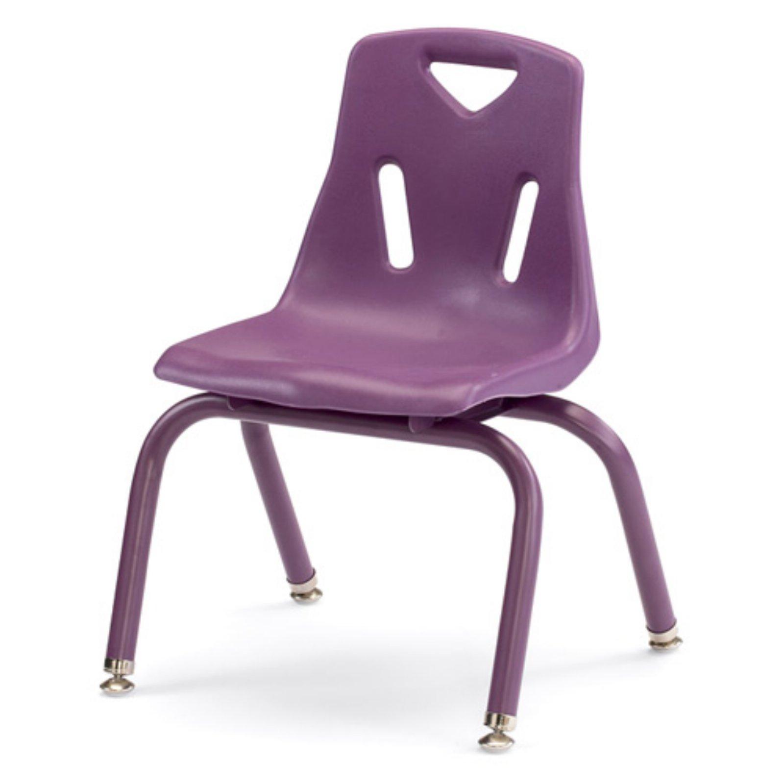 Jonti-Craft Berries Plastic Chairs with Powder Coated Legs