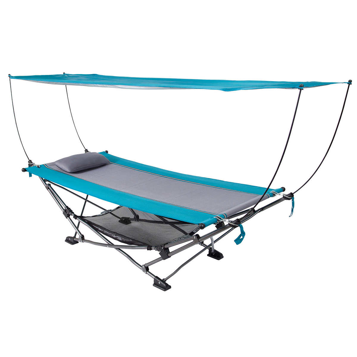 Folding Hammock with Removable Canopy