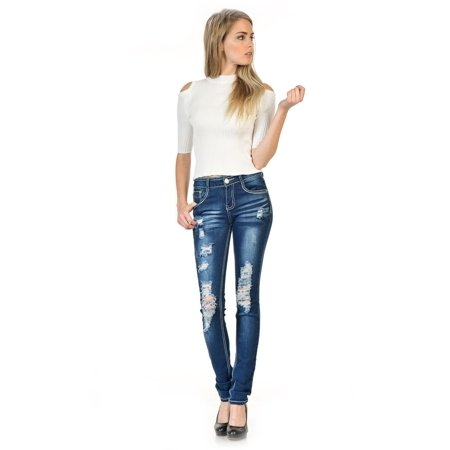 Sweet Look Premium Edition Women's Jeans - Skinny - Style N1118-R