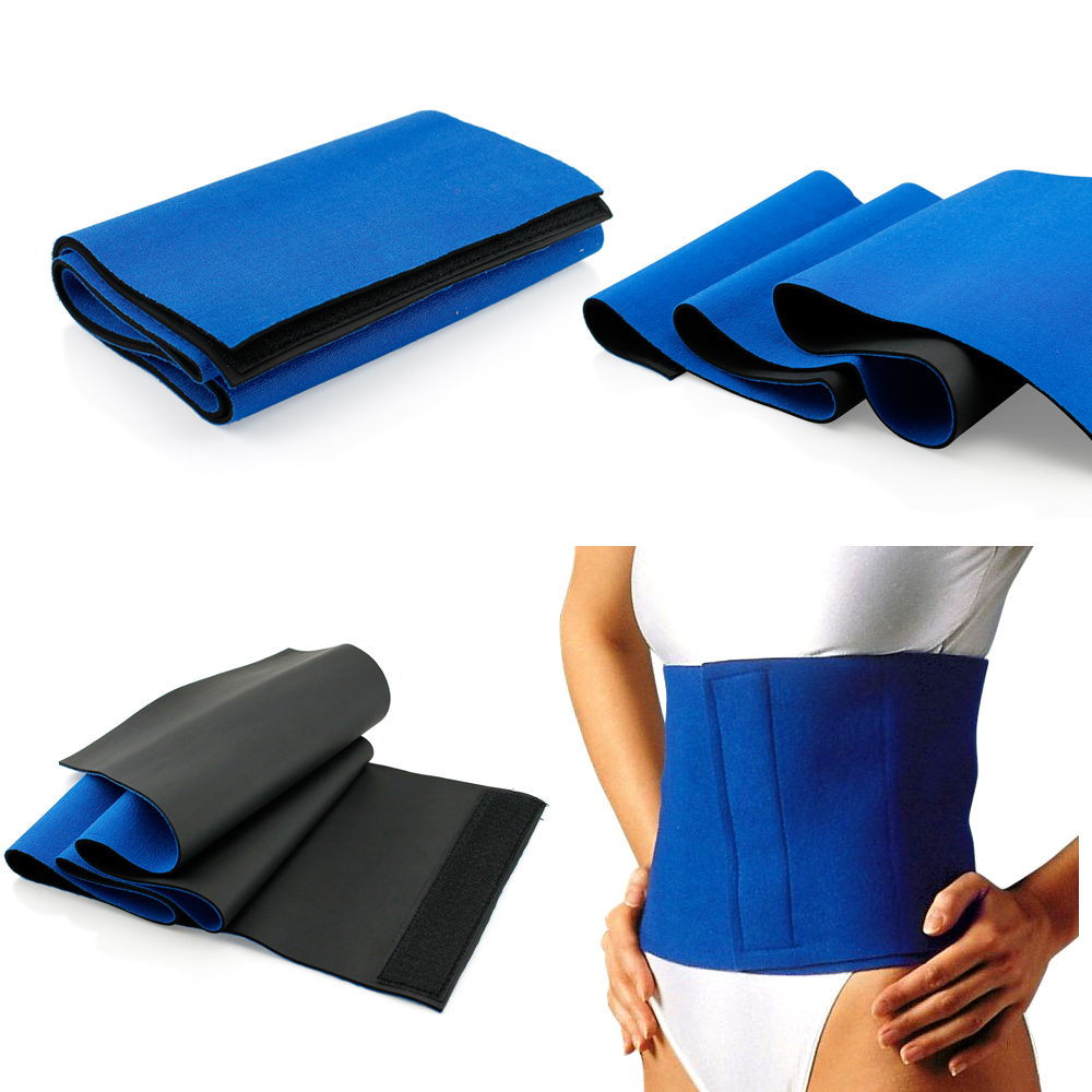 Waist Trimmer Sweat Fat Cellulite Burner Body Leg Slimming Shaper Exercise Wrap Belt