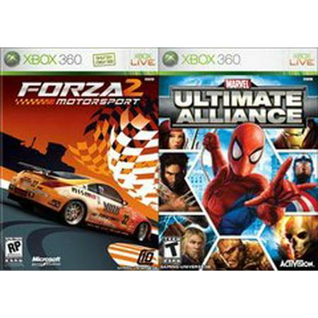 Marvel Ultimate Alliance / Forza 2 - Xbox360