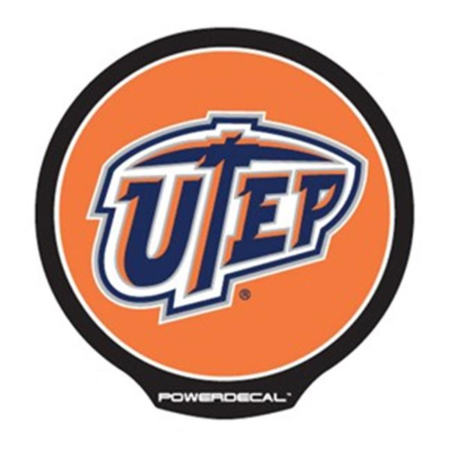 AXIZ GROUP PWR260901 LED Light-Up Decal Utep