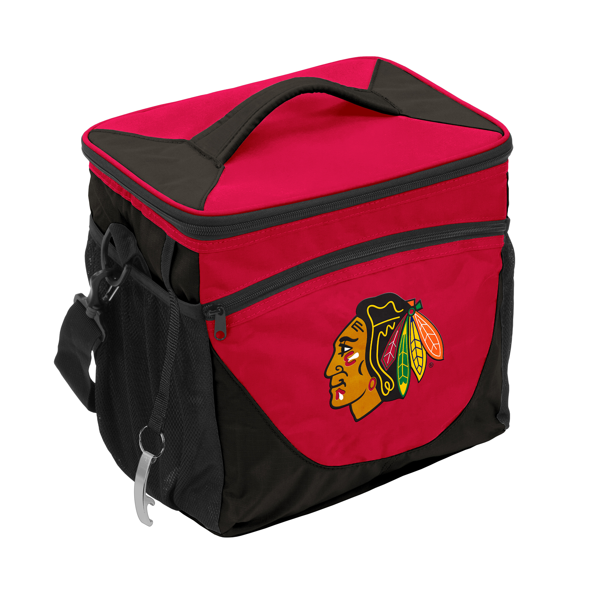 Chicago Blackhawks 24-Can Cooler - No Size