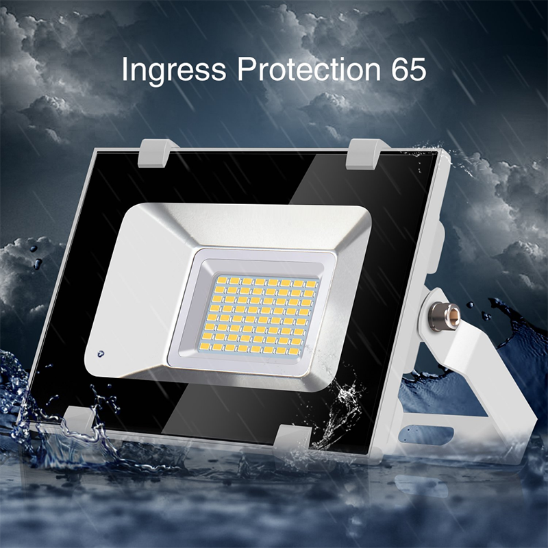 Viugreum 30W LED Flood Light Outdoor Landscape Lamp 3600LM Waterproof Cool White