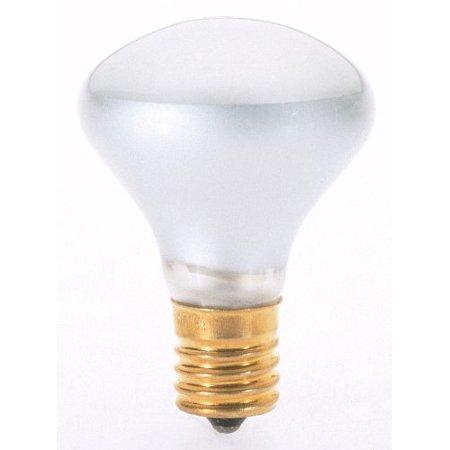 S3215 120V Intermediate Base 40-Watt R14 Light Bulb, Clear