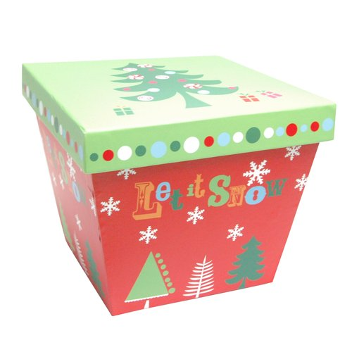 Tree Trapezoid Box