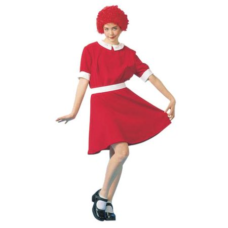 Adult's Red Orphan Costume - Orphan Annie Costumes