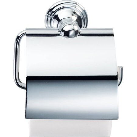 Agm Home Store Wall Mount Toilet Paper Holder With Lid Cover Walmart Com Walmart Com