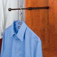 Rev-A-Shelf RCVR-12-ORB Designer Series Valet Rod for 12 in. Closets - Oil-Rubbed Bronze