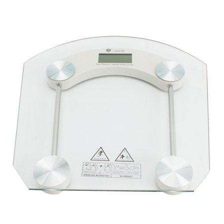 Ktaxon New Digital LCD Glass Electronic Weight Body Bathroom Health Scale 330lb - image 4 de 5