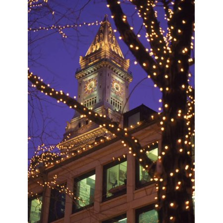 Quincy Market and Customs House Tower, Boston, MA Print Wall Art By James - Home Depot Quincy Ma