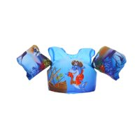 LA HIEBLA Children Puddle Jumper Swimming Cartoon Life Jacket Safety Vest