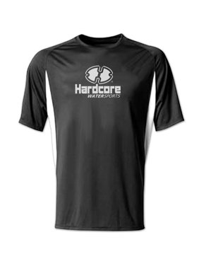 Mens Hardcore Loose Fit Rash Guard Swim Shirt with SPF Protection, Soft, smooth texture for maximum comfort By Hardcore Water Sports
