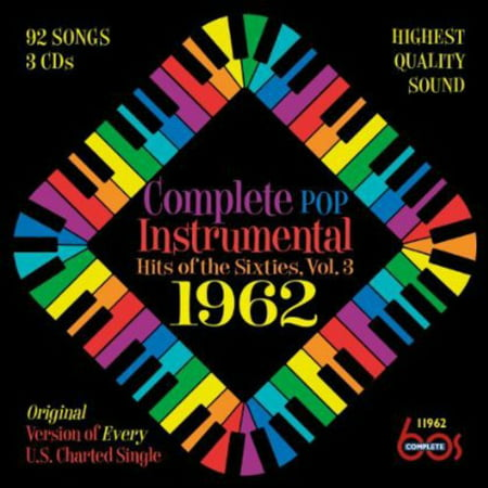 Instrumental Pop Hits (Complete Pop Instrumental Hits Of The Sixties, Vol. 3: 1962 (CD) )