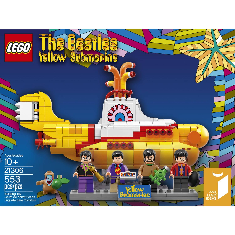 lego ideas yellow submarine 21306 - walmart
