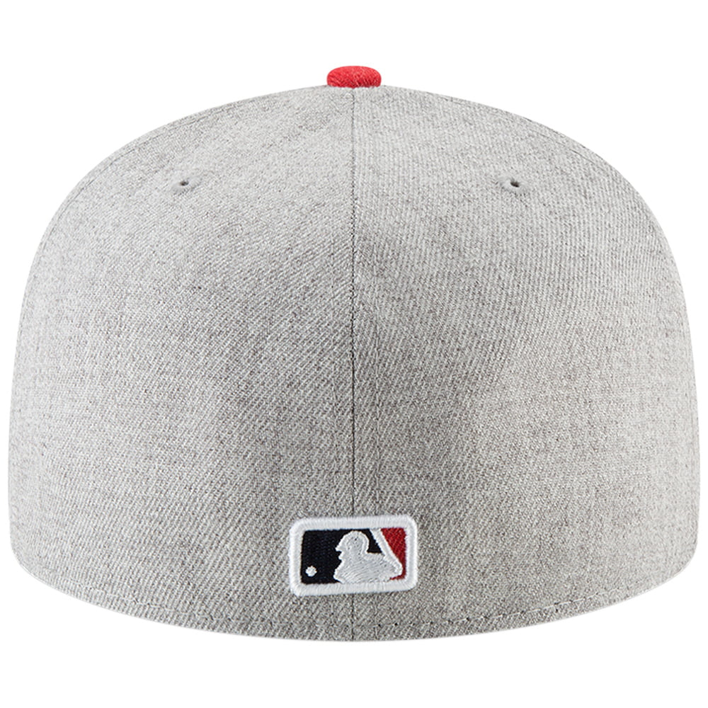 ... discount atlanta braves new era hype 59fifty fitted hat heathered gray  walmart b127f 925ad ... 2f2a1783e32