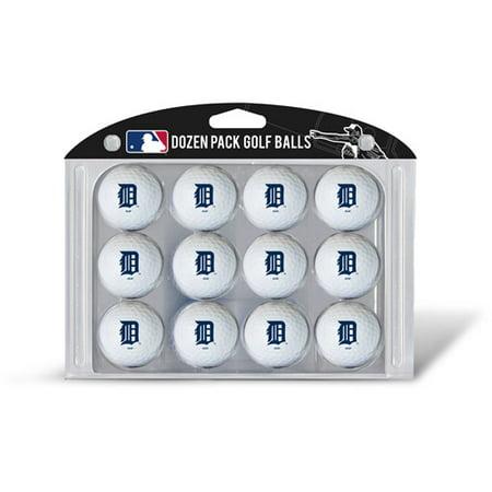 Team Golf Detroit Tigers Golf Balls, 12 Pack