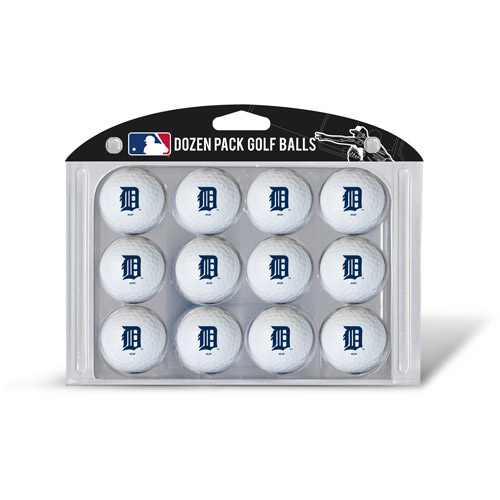 Team Golf MLB Detroit Tigers Golf Balls, 12 Pack