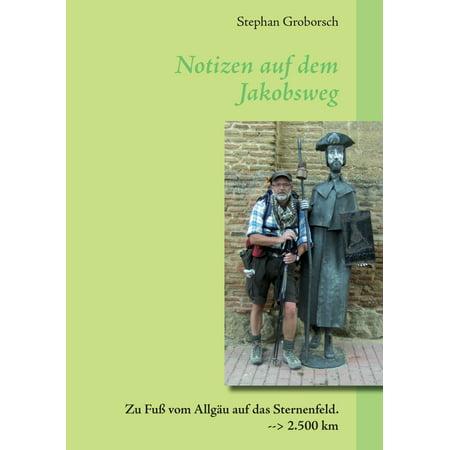 Notizen auf dem Jakobsweg - eBook (Sport Shop Auf Rechnung)
