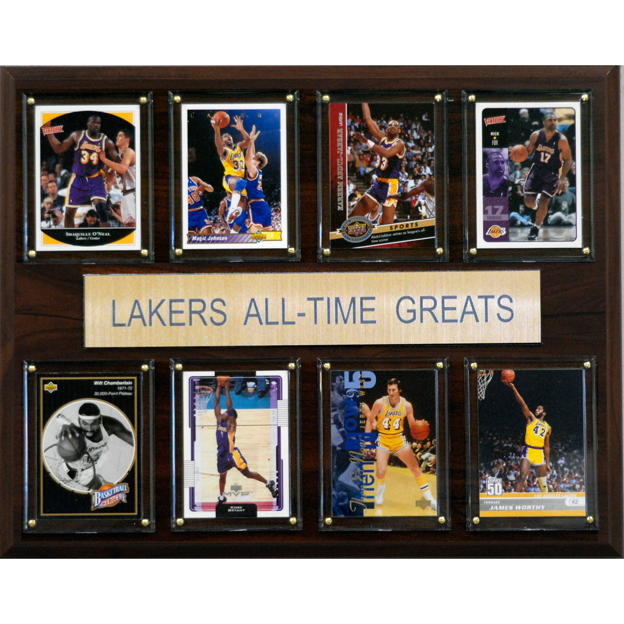 C&I Collectables NBA 12x15 Los Angeles Lakers All-Time Greats Plaque