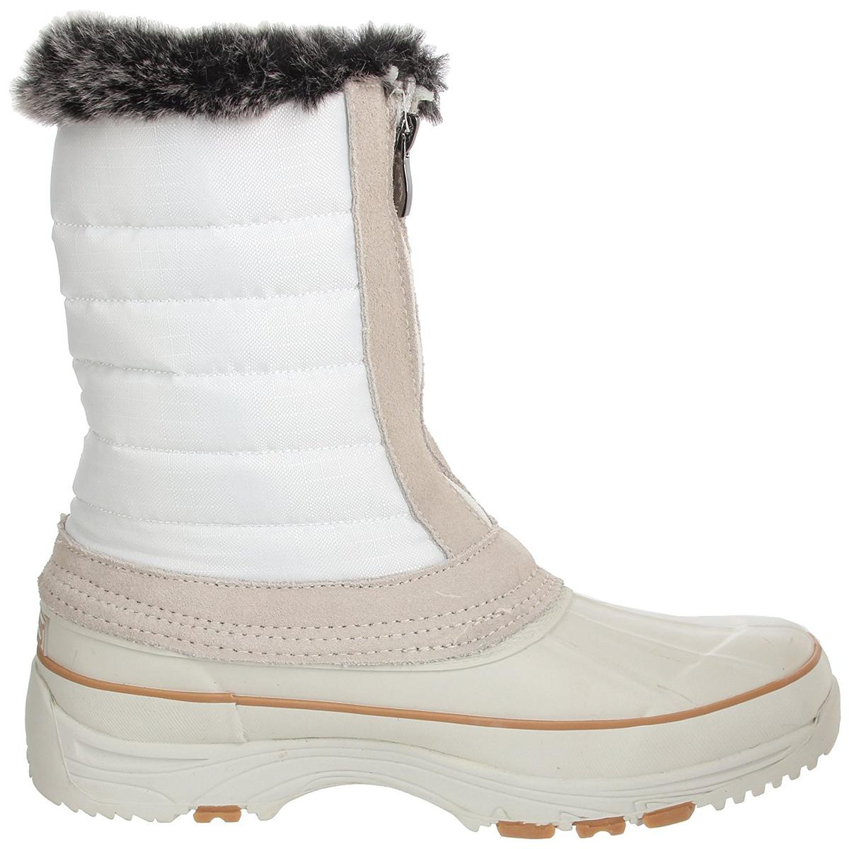 Aquatherm by Santana Women's Gander White Ankle Boot 10M
