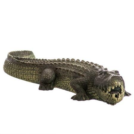 Alligator Aquarium (Blue Ribbon Exotic Environments Bubbling Alligator Aquarium Ornament 11.5L x 3.5W x 1.5H )
