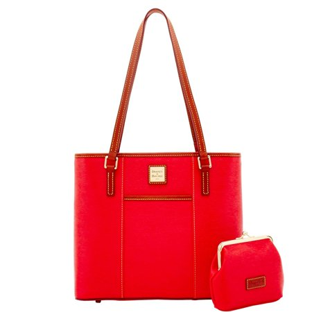 Dooney & Bourke Cork Small Lexington & Frame Purse Bag in Red (Dooney Bourke Lexington)