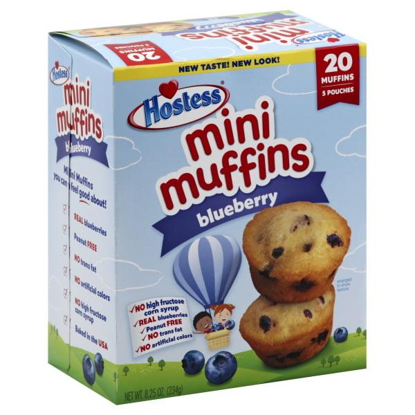 Hostess Brands Hostess Mini Muffins 20 Ea Walmart Inventory
