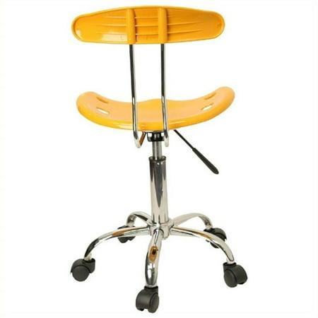 Scranton & Co Computer Task Office Chair in Yellow - image 2 de 4