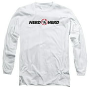 Chuck Comedy Spy Sitcom TV Series NBC Nerd Herd Adult Long Sleeve T-Shirt