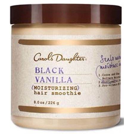 Moisturizing Black Hair - Black Vanilla Moisturizing Hair Smoothie by Carol's Daughter for Unisex - 8 oz Hair Smoothie