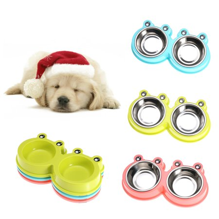 Feeders Stainless Steel Dog Bowls - Hot Puppy Bowl sale!! 11.41x1.57