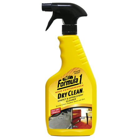 Formula 1 Dry Clean Carpet & Upholstery Cleaner