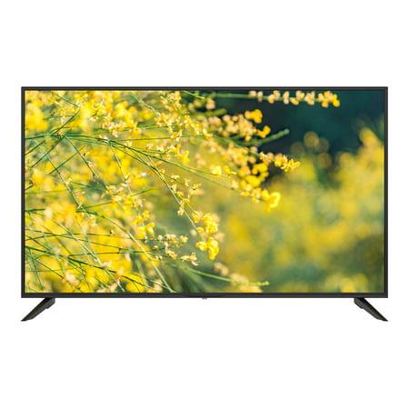 """Sansui S50P28U - 50"""" Diagonal Class LED-backlit LCD TV - 4K UHD (2160p) 3840 x 2160 - D-LED Backlight - black"""