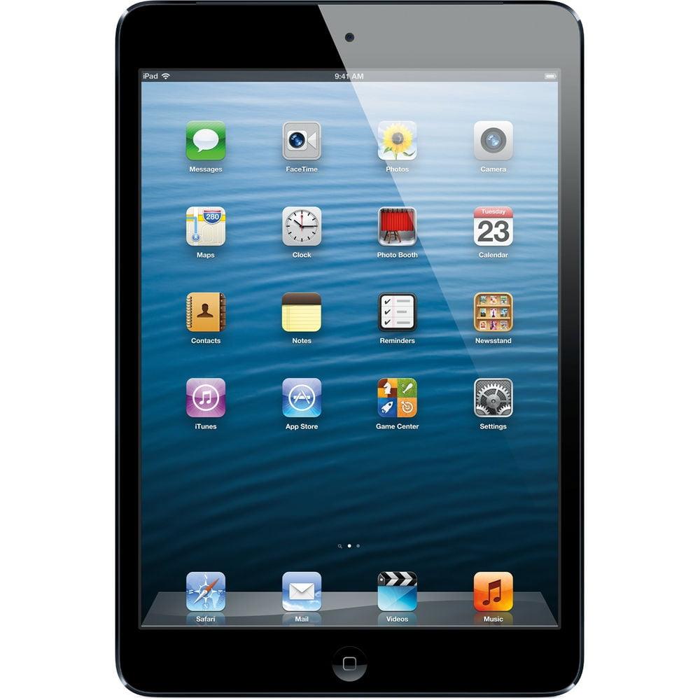 Apple MD534LL/A iPad mini Tablet 16GB WiFi + 4G AT&T, Black (Refurbished)