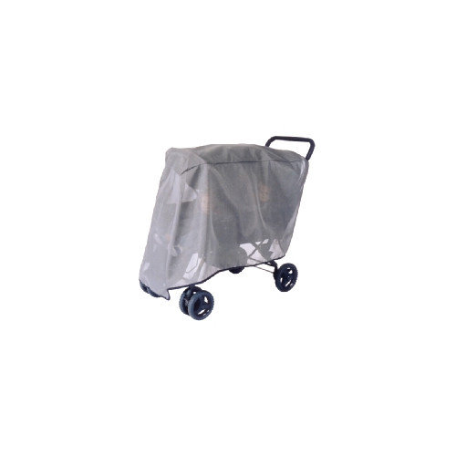 Sasha's Kiddie Products Foundations Duo Double Tandem Stroller Sun, Wind and Insect Cover