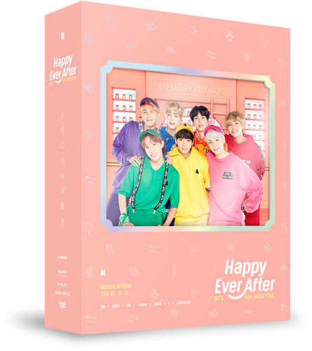 BTS 4th Muster (Happy Ever After) (DVD)