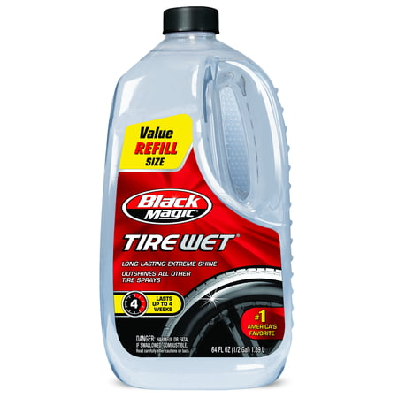 Armor All Tire Shine (Black Magic Tire Wet, 64oz. Tire Shine - 120011 )