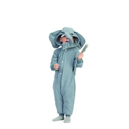 Funsies Kigurumi Peanut Elephant Fleece Jumpsuit Costume Child Toddler (Blue Unicorn Kigurumi)