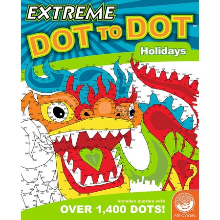 Extreme Dot to Dot: Holidays, TOYS THAT TEACH: Studies show that connect-the-dot puzzles are one of the best tools for teaching children a multitude of high level.., By
