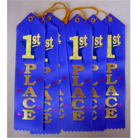 1st Place Award Ribbon First Place Blue Ribbon