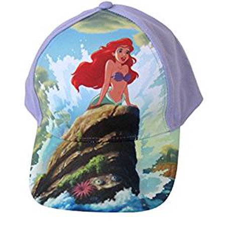 Disney - Baseball Cap - Disney - Princess - Little Mermaid Ariel Girls Hat  - Walmart.com c3c06cfe144