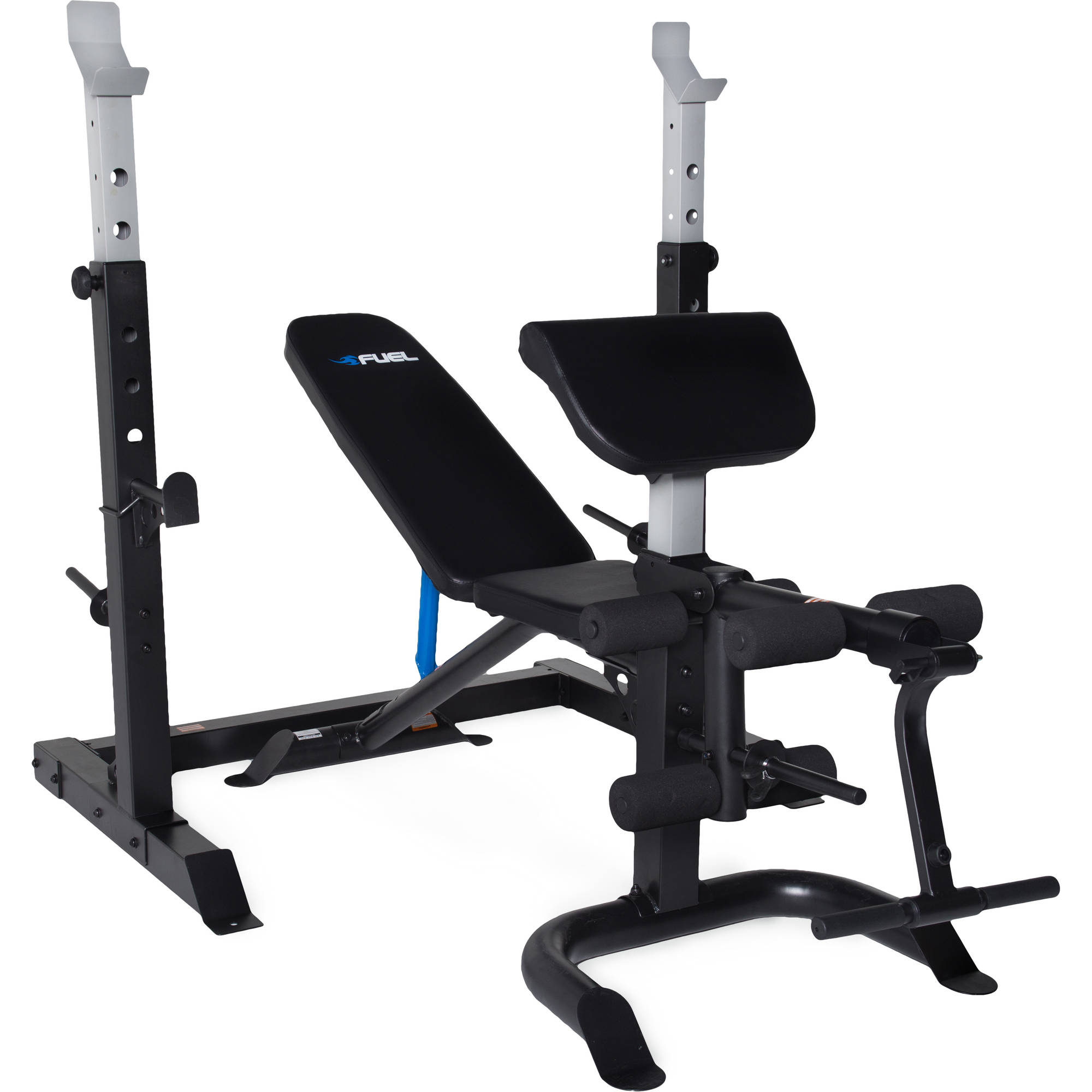 Fuel Pureformance Olympic Bench with Squat Rack, 2-Piece