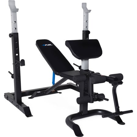 Fuel Pureformance Olympic Bench With Squat Rack 2 Piece