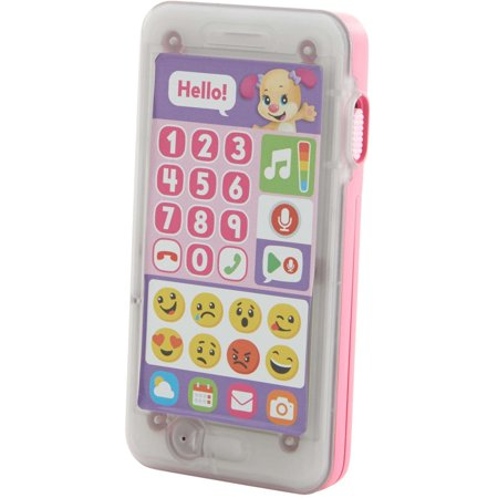 Fisher Price Laugh   Learn Leave A Message Smart Phone  Pink