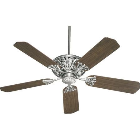 Quorum 85525 92 52  5Bl Windsor Fan   As Antique Silver