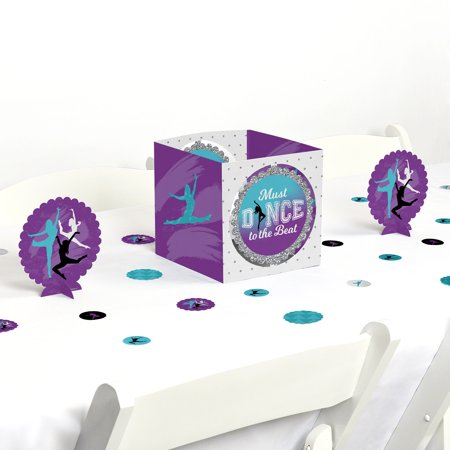 Must Dance to the Beat - Dance - Birthday Party or Dance Party Centerpiece & Table Decoration Kit](80th Birthday Centerpieces Decorations)