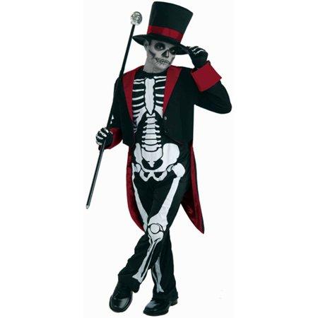 Mr. Bone Jangles Day of the Dead Kids Costume (Day Of The Dead Costume Kids)
